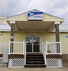 West Galveston Island Contract Post Office In Jamaica Beach