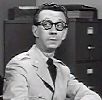 James Millhollin - Millhollin in the trailer for No Time for Sergeants, 1958