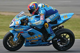 James Haydon - James Haydon on Rizla Suzuki GSX-R 1000
