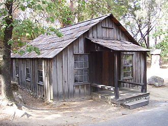 Coloma, California - James Marshall cabin in Coloma
