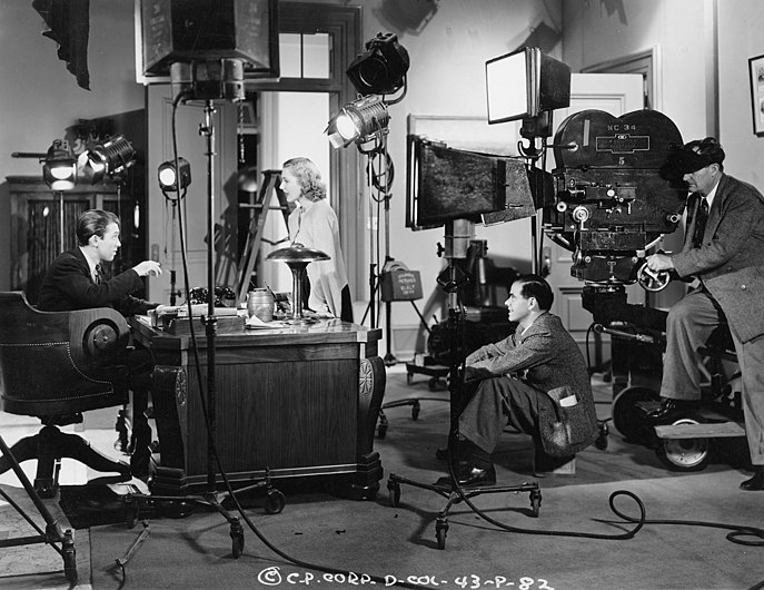 James Stewart on the set of Mr Smith Goes to Washington (2).jpg