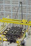 James Webb Space Telescope Mirror Halfway Complete (23682999219).jpg