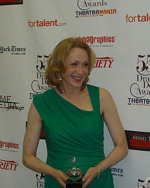 Jan Maxwell - Jan Maxwell as the Winner for Outstanding Actress in a Play in 2010