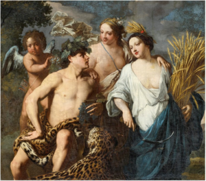 Jan Miel - Sine Cerere et Baccho Friget Venus