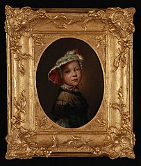 Portret van Jacomina Stolker (1753-1818)
