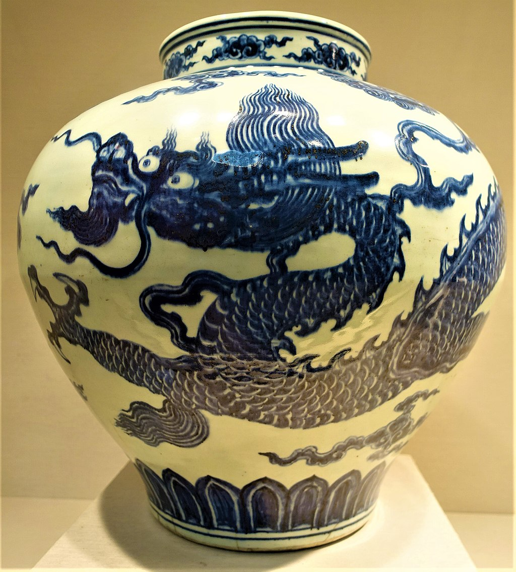 Jar with Dragon