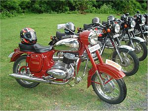 Ideal Jawa -  Jawa 250 'A' Type (typ 353/04)