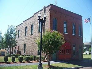 Jacksonville Fire Museum - Image: Jax FL Catherine Street Fire Station 01