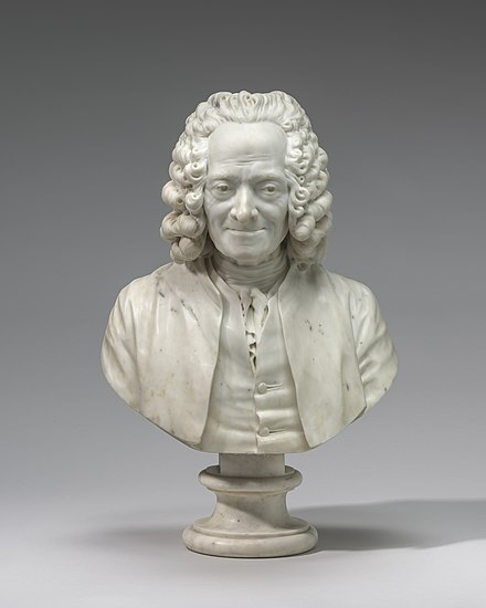 Jean-Antoine Houdon, Voltaire, 1778, National Gallery of Art Jean-Antoine Houdon, Voltaire, 1778, NGA 1266.jpg