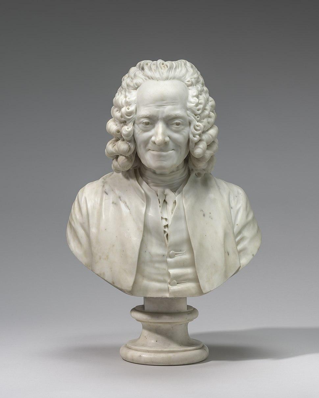 Jean-Antoine Houdon, Voltaire, 1778, NGA 1266