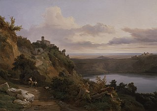 Jean-Charles Joseph Rémond - Lac de Nemi (ca.1830).jpg