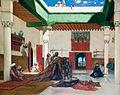 Jean-Joseph Benjamin-Constant - Marchand de tapis à Tanger.jpg