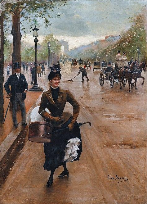 Файл:Jean Béraud La Modiste Sur Les Champs Elysees.jpg