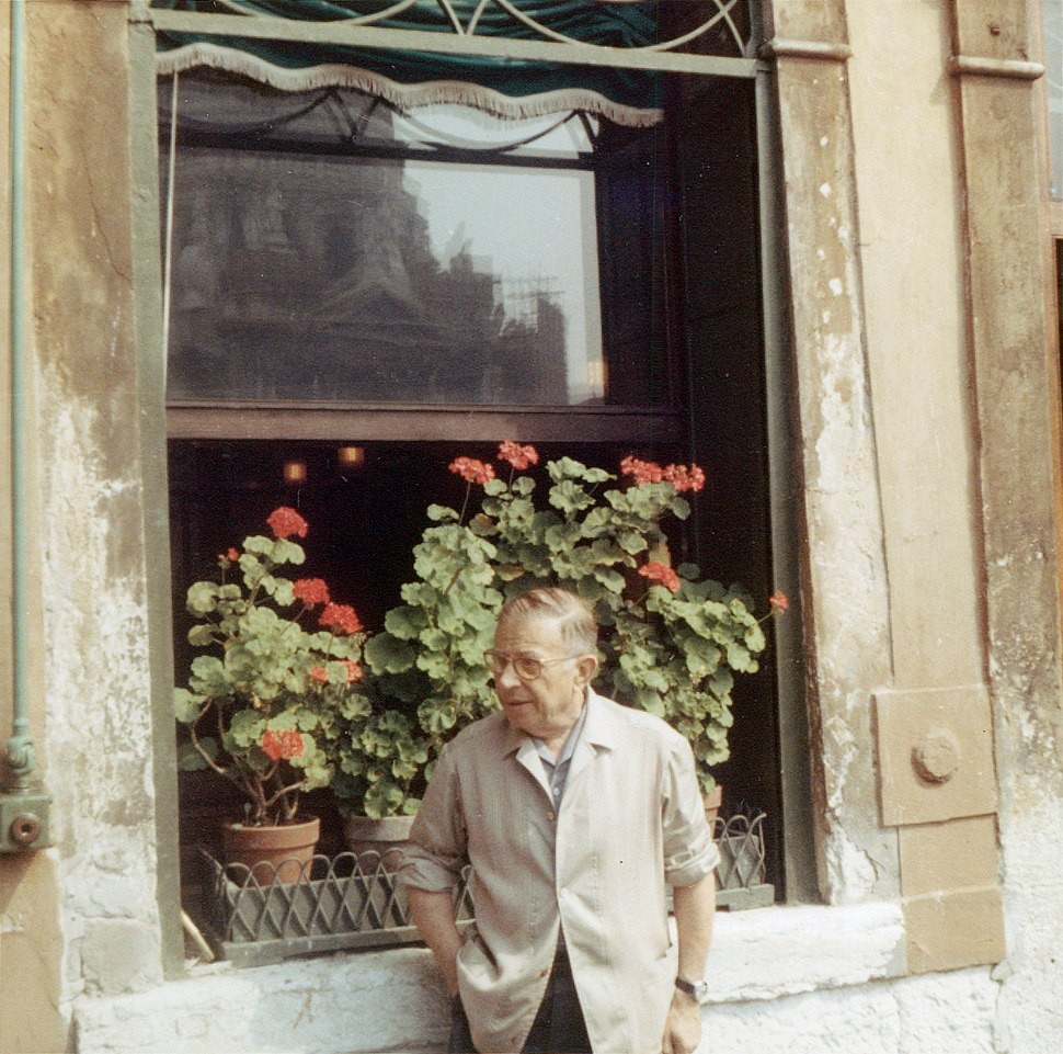 Jean Paul Sartre 1967