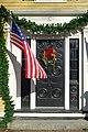Jefferson Cutter House (Cyrus Dallin Art Museum) doorway - Arlington, MA - DSC03418.jpg