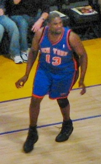 Jerome James - James with the New York Knicks in 2007