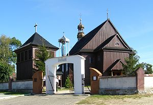 Ranczo (TV series) -  The church in real town of Jeruzal which appears regularly in the show