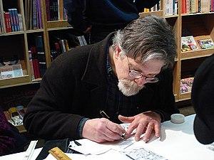 Jim Woodring - Image: Jim Woodring Drawing