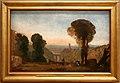 Jmw turner, paesaggio italiano con ponte e torre, 1827-28 ca.jpg