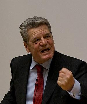 Deutsch: Joachim Gauck im Hasso-Plattner-Institut