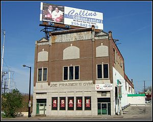 Joe Frazier - Joe Frazier's Gym in Philadelphia