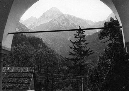 Il Jof di Miezegnot visto da Malborghetto (1960)