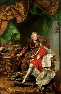 Charles VI, Holy Roman Emperor 18th century Habsburg Holy Roman Emperor