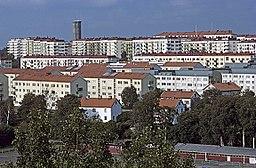 Johanneberg, foto fra 1977.