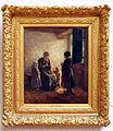 Johannes Albert Neuhuys (1844-1914), De open deur, 1905, Olieverf op doek.JPG
