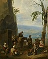 Johannes Lingelbach - Italian Landscape with Resting Peasants - 003.jpg