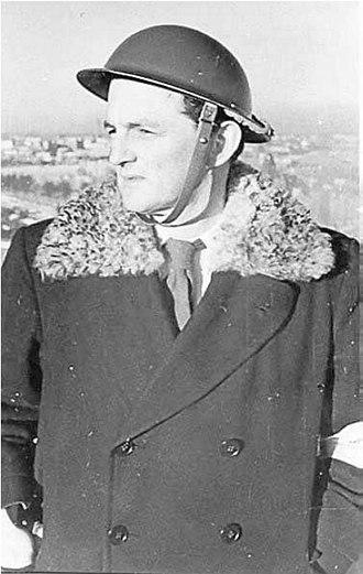John Langdon-Davies - John Langdon-Davies in 1940.