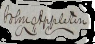 John Appleton - Image: John Appleton Signature