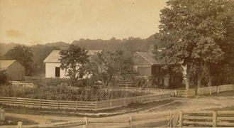 John Hollister House - c. 1890s view of the property
