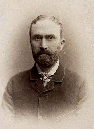 John Scott Keltie - Keltie in 1885