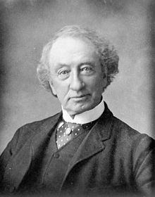 Formal photograph of John A. Macdonald