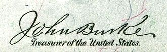 John Burke (politician) - Image: John Burke (Engraved Signature)