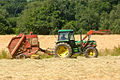 John Deere 3050 with New Holland baler 1.jpg