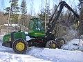 John Deere harvester in Jyväskylä.JPG