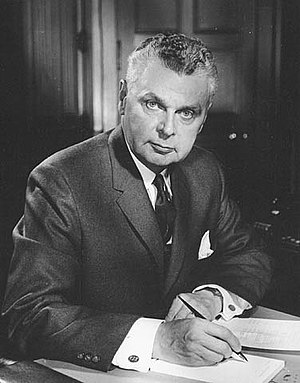 Canadian federal election, 1957 - Image: John G. Diefenbaker