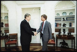 John Kasich - Kasich meeting with Ronald Reagan.