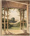 John Kinder - Auckland, from the Verandah of Mr Reader Wood's Cottage - Google Art Project.jpg