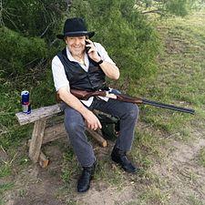 John Perry Barlow dove hunting near Corpus Christi, Texas.jpg