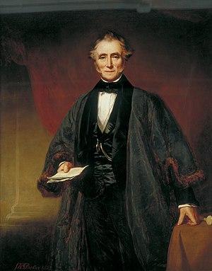 Warren Stormes Hale - John Robert Dicksee: Portrait of Warren Stormes Hale, 1853