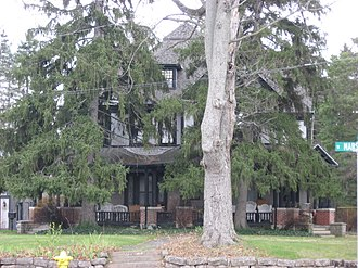 National Register of Historic Places listings in Adams County, Indiana - Image: John S. Bowers House