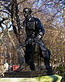 John Stuart Mill statue, Temple Gardens, London.jpg