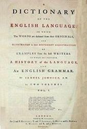 Samuel Johnson  Wikipedia A Dictionary Of The English Languageedit