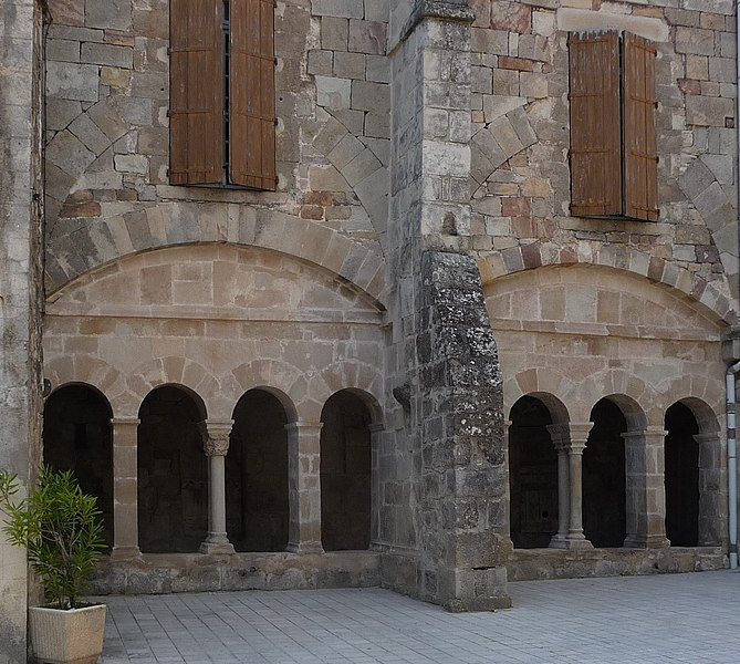 Old Benedictine cloister of Joncels