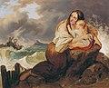Josef Danhauser - Die Schiffbrüchige - 6166 - Österreichische Galerie Belvedere.jpg