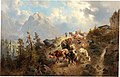 Josef Thoma - Driving Down the Cattle from the Alps.jpg