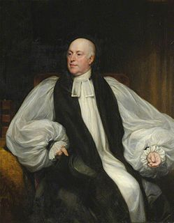Joseph Allen (bishop) British clergyman